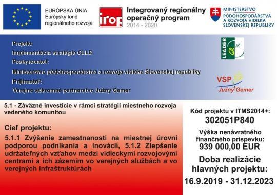 IROP propagácia plagát - Implementácia